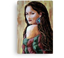 Phoenix Wrapped In Tradition Canvas Print