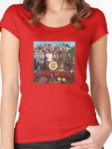 Peppers (vinyl square version) Women's Fitted Scoop T-Shirt