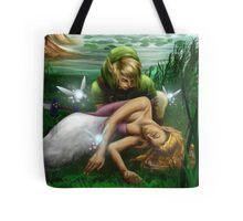 Link and Zelda Tote Bag