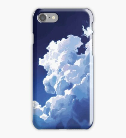 CLOUDS // SHELTER iPhone Case/Skin