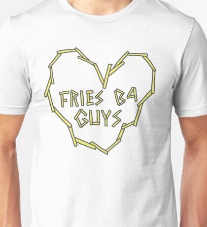 fries b4 guys Unisex T-Shirt