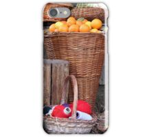 oranges and balls of wool iPhone Case/Skin