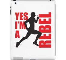 Yes I'm A Rebel iPad Case/Skin