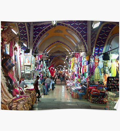 The Grand Bazaar, Istanbul Poster