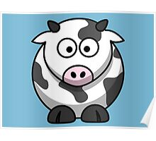 Bella the cow Poster