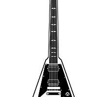 Flying V Guitar by Janto