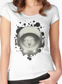 Space Kitty II Women's Fitted Scoop T-Shirt
