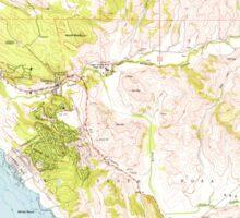 USGS TOPO Map California CA Cambria 288834 1959 24000 geo Sticker