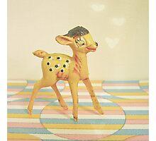 Dancing Deer Photographic Print