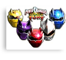 POWER RANGERS Canvas Print