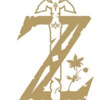 Zelda Logo Breath of the wild and Master sword Sticker