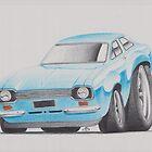 Ford Escort by Glens Graphix by GlensGraphix