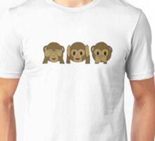 monkey emojis Unisex T-Shirt