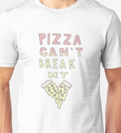 Pizza can't break my heart Unisex T-Shirt