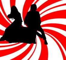 Swirl Design - The White Stripes Sticker