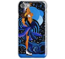 Sustah Girl Ice Skater iPhone Case/Skin