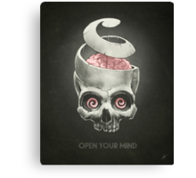 Open Your Mind! Canvas Print