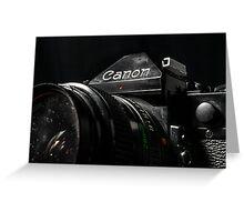 Canon AE-1 Greeting Card