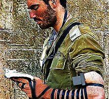 ✌☮ TEFILLIN SOLDIER @ THE WESTERN WALL(WAILING WALL)✌☮  by ╰⊰✿ℒᵒᶹᵉ Bonita✿⊱╮ Lalonde✿⊱╮