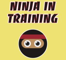 Ninja in Training Kids Tee