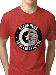 Stucky: Starbucks Parody Logo Tri-blend T-Shirt