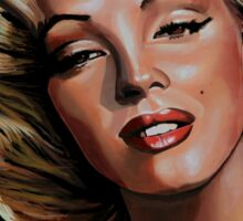 Marilyn Monroe 2 Painting Sticker