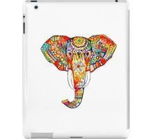 tribal rainbow elephant iPad Case/Skin