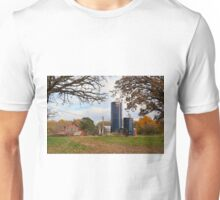 Abandoned Autumn Farm Unisex T-Shirt