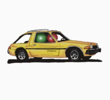 Two ludos in a yellow pacer by Johan Malm