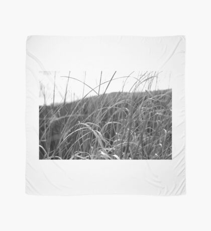 Black and White Grass Scarf