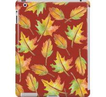 Fall Leaves Collage iPad Case/Skin