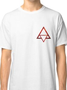 Triangle - Red Classic T-Shirt