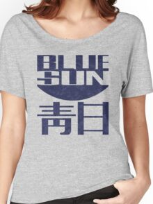 blue sun Women's Relaxed Fit T-Shirt