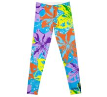 Floral Delight by Hamlet Pericles Leggings