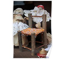 miniature chair handmade Poster