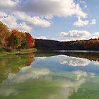 End of the season on the lake by vigor