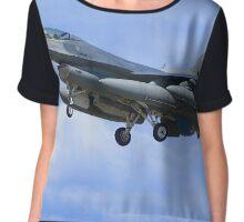 F16 Falcon Chiffon Top