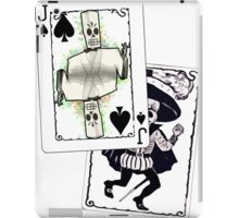 Jack of the Undead Spades iPad Case/Skin
