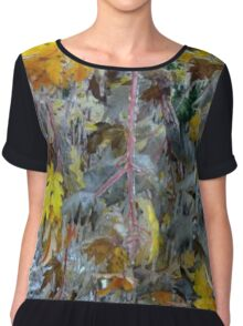 Early Frost Chiffon Top