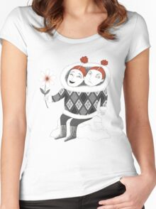 Good Mood Bad Mood Women's Fitted Scoop T-Shirt