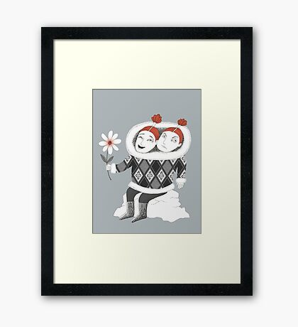 Good Mood Bad Mood Framed Print