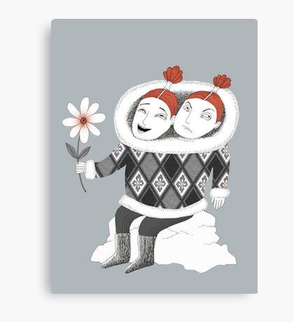 Good Mood Bad Mood Canvas Print