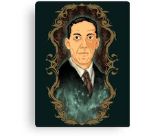 Hp Lovecraft Canvas Print