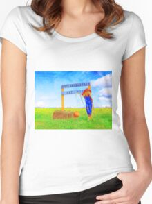 Riggers Farm Women's Fitted Scoop T-Shirt