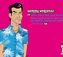 Grand Theft Auto: Vice City - Tommy Vercetti by Jonathan Oldfield