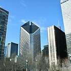 Chicago Skyline Seen from Millennium Park by Susan Russell