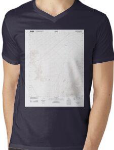 USGS TOPO Map California CA Cadiz Summit 20120323 TM geo Mens V-Neck T-Shirt