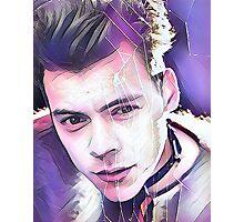 Harry Styles Magazine Cover Photographic Print