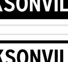 Jacksonville Sticker