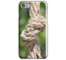 knot on the rope iPhone Case/Skin